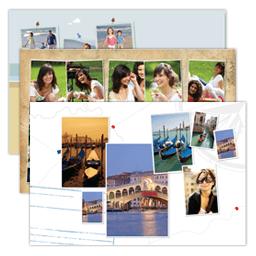 Impression photos pêle mêle sur papier Inkjet