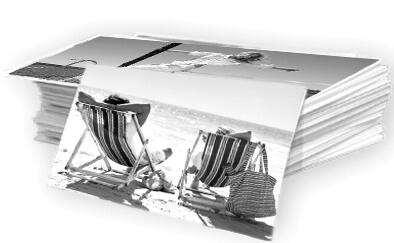 Tirage photos noir et blanc sur papier Ilford