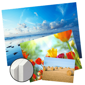 Impression photos couleurs sur Forex