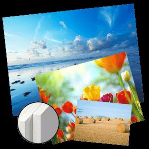Impression photos couleurs sur Forex